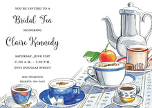 Caf au Lait Invitations