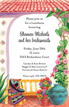 Mexican Ole' Garden Invitations