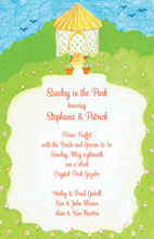 Romantic Spring Gazebo Invitation