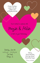 Stitched Heart Invitations