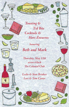 Various Cocktail Party Invitation