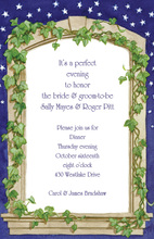 Night Evening Arch Invitation