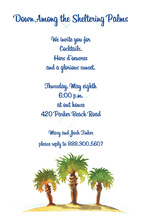 Elegant Palmettos Design Invitations