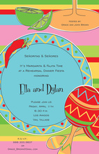 Fiesta Placesetting Invitations
