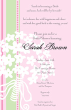 Modern Bouquet Invitations