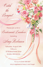 Inspiring Catch The Bouquet Invitations