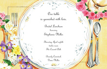 Bridal Luncheon Party Invitations