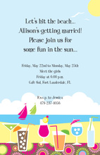 Cool Summer Sips Party Invitation