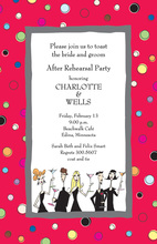 Corporate Party People Invitation