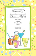 Yellowigh Tropical Drinks Invitation