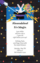 Abracadabra Magic Happened Invitations