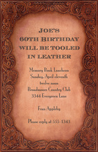 Leather Bound Invitations