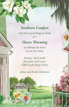Southern Comfort Plantation Stamp Invitation