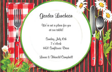 Informal Luncheon Party Invitations