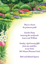 Eternal Spring Pathway Invitation