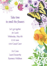 Garden Touch Invitation