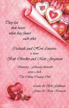 Heart Shaped Boxes Invitation