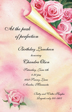 Rose Discover Invitations