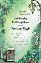 Beautiful New Orleans Invitation