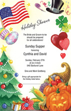 American Festival Holiday Celebrations Invitation