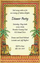 Inspired Indian Elephants Invitation