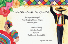 Mexican Hat Dance Invitations