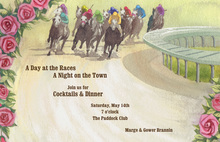 Kentucky Derby To The Race Invitations