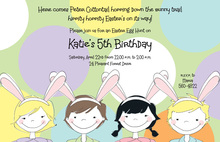 Bunny Ears Invitation