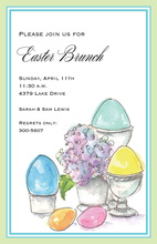 Elegant Eggs Invitation