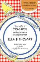 Clambake Placesetting Invitation
