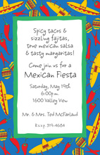 South Of The Border Invitations
