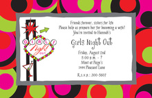 Neon Sign Party Invitation