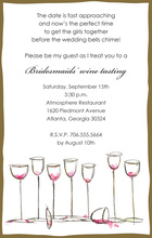 Perfect Wine Glasses Everywhere Invitations