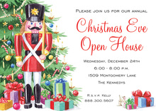 Huge Holiday Nutcracker Invitations