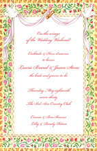 Elegant Engagement Masterpiece Invitation