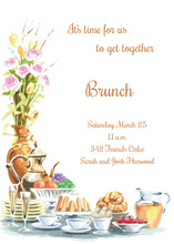 Celebrating Brunch Buffet Invitations