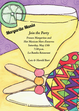 Festive Maracas Party Invitation