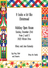 Nutcracker Christmas Joy Invitation