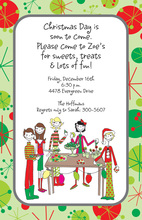 Kids Holiday Buffet Invitation
