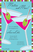 Martini Toasting Invitation