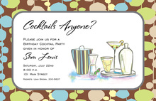 Metro Cocktails Invitation