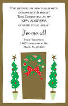 Glitzy Door Invitation