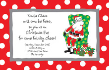 Santa's Lap Invitations