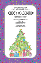 Festive Tree Invitation
