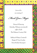 Krewe Kontent Invitation