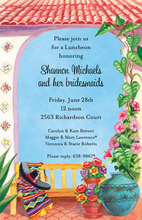 Mexican South Border Home Invitations