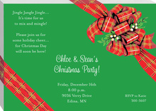 Classy Holiday Package Invitations