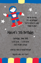 Moonraker Space Kids Invitations