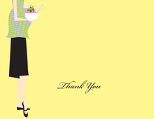 Ice Cream Mama Thank You Cards