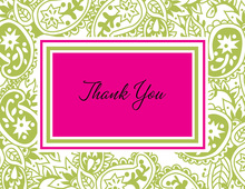 Tattoo Lime Thank You Cards